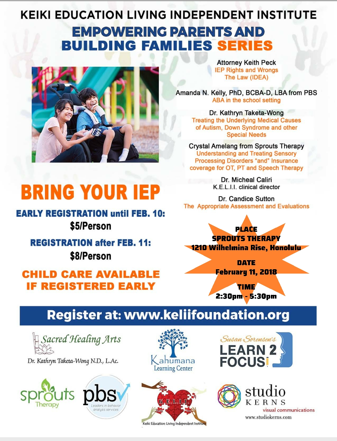Empowering Parents In Special Education >> Kelii Empowering Parents Families Series